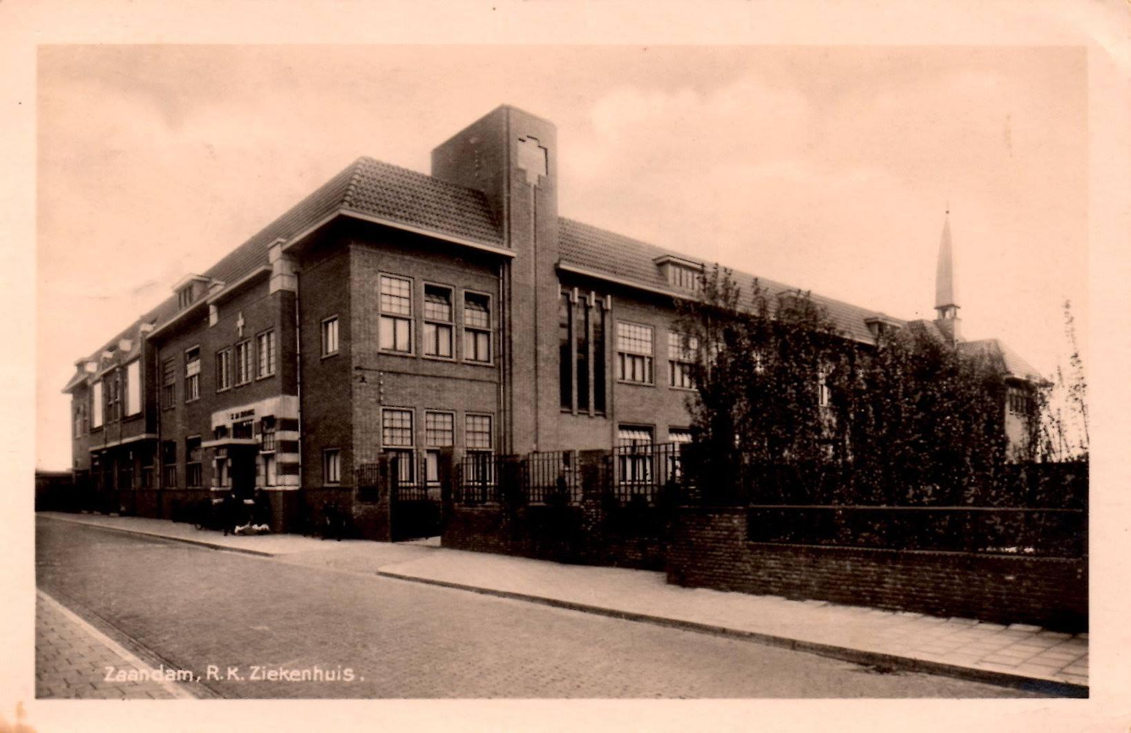 Kapeltoren Sint Jans Ziekenhuis.