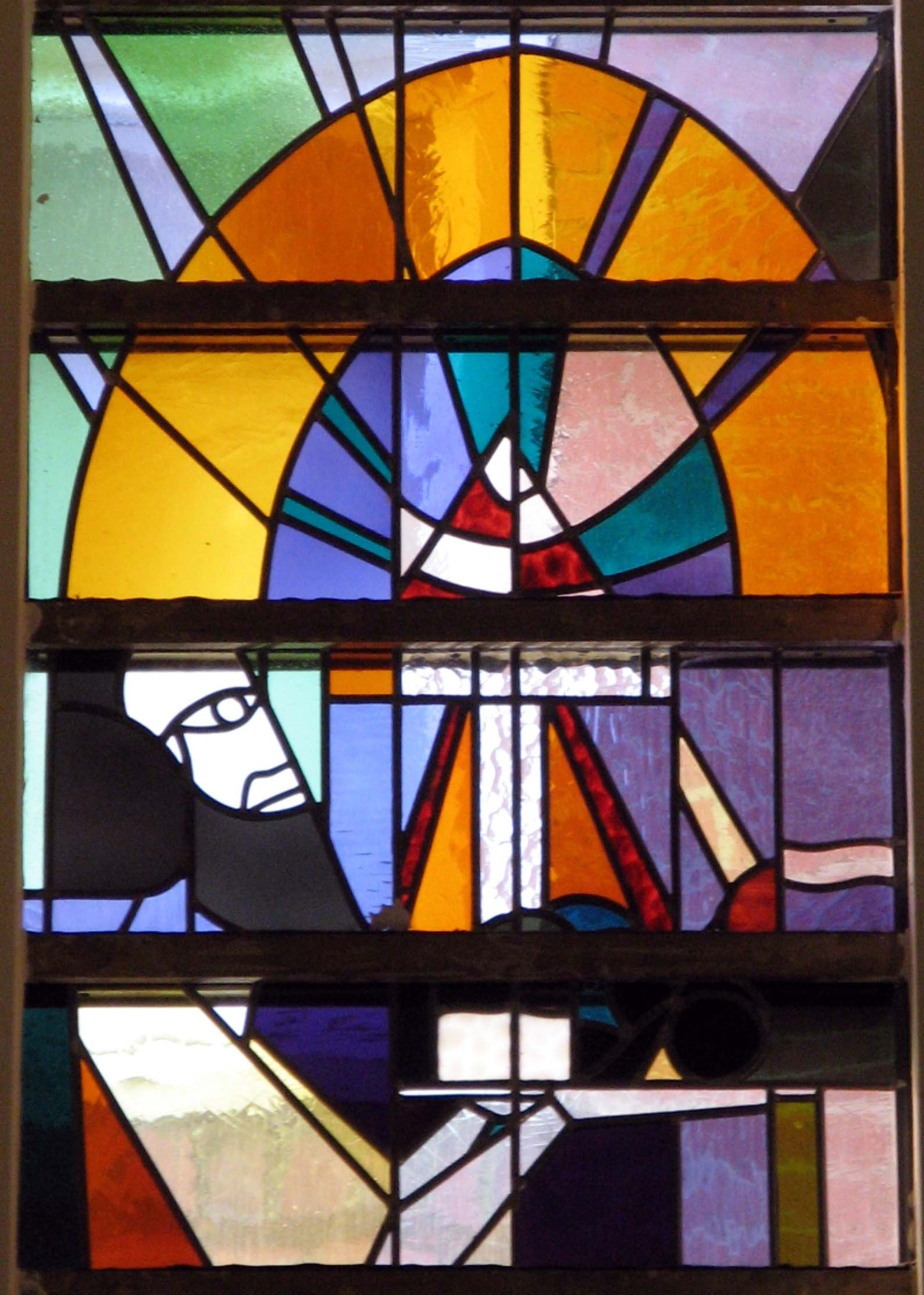 Koning en priester Melchizedek - detail